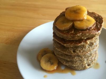pancake-banana